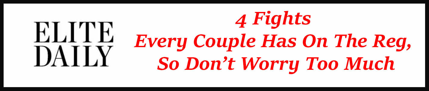 External link: 4 Fights every couple has