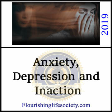 Anxiety, Depression and Inaction. Self-perpetuating diseases. A Flourishing Life Society Article Link