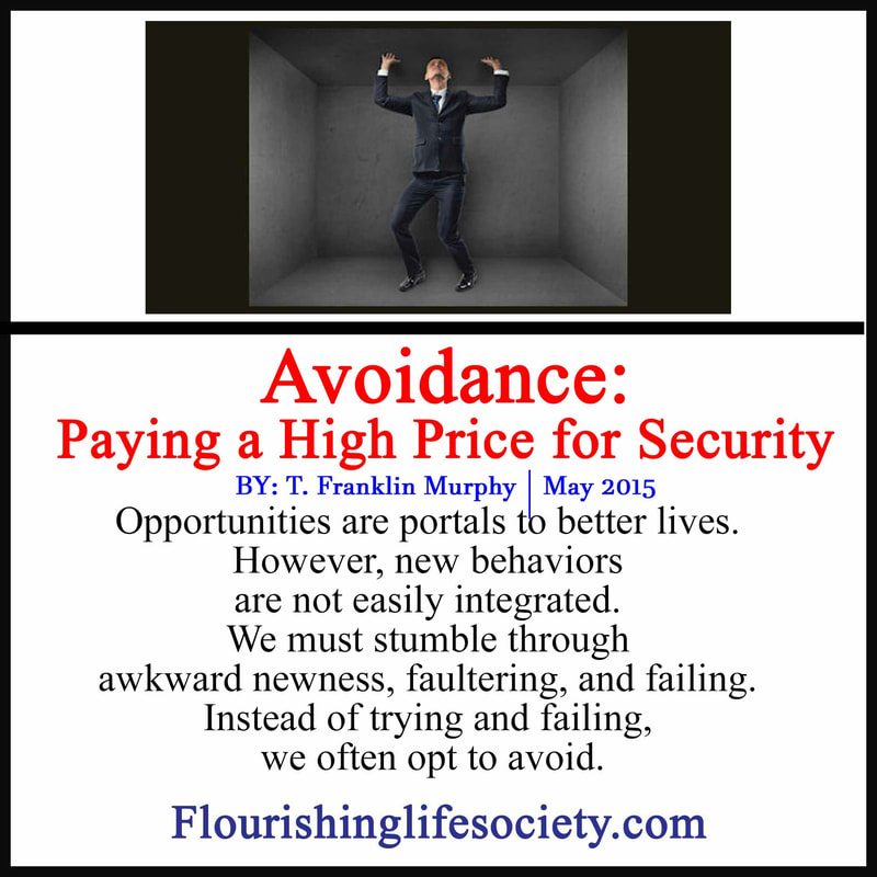 Avoidance relieves stress in the moment; but habitual running carries a high price, impacting futures, and limiting growth.
