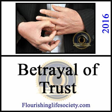 Betrayals are not only sexual. We can betray intimacy by divulging details, violating trust, and painting our partners as devils in disguise.