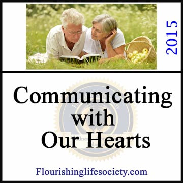 Intimate communication. A flourishing life Society article link