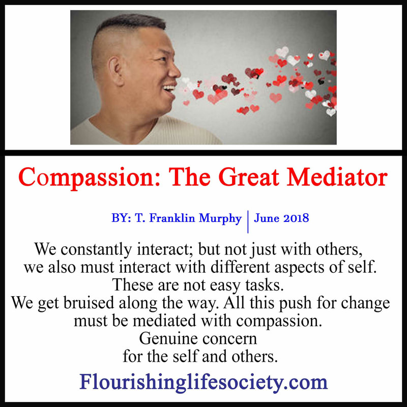 Link: Compassion softens the ego, welcomes forgiveness and blesses our lives. Compassion is a powerful ally for change.