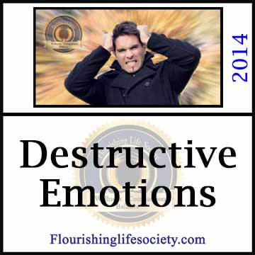 some emotions overtake are ability to react appropriately, interfering with goals.