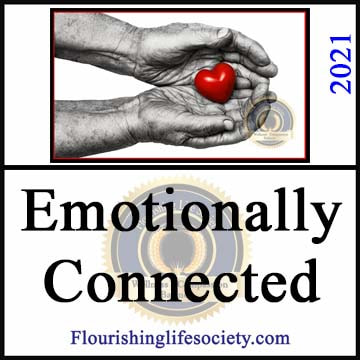 A Flourishing Life Society article link. Emotionally Connected. Attuning to a Partner's Feelings