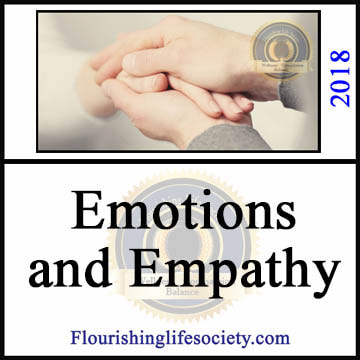 FLS Link. Emotions and Empathy. The feelings of living come to life, pushing experience into a new aliveness. For some feelings are scary and they avoid deep contact with feeling experience. This not only limits their experience but interferes with connection to others.
