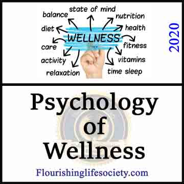 Psychology of Wellness Banner link to Flourishing Life Society articles