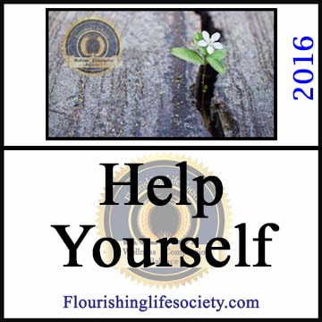 A Flourishing Life Society article link. Help Yourself. Accepting Responsibility. Making a Change.
