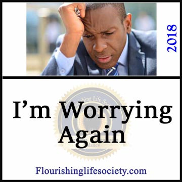 We must manage worry to push action without burdening with overwhelm. Concern for the future is important but easily can become all consuming.
