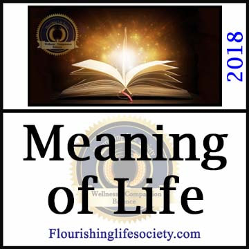 Flourishing Life Society article link. A Meaningful Life