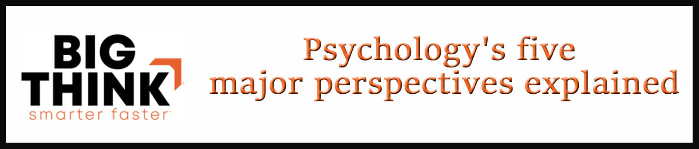 External Link: Psychology's five major perspectives explained