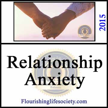 A Flourishing Life Society Link. Relationship Anxiety