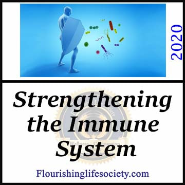 FLS Link. Strengthening the Immune System. Our immune system can use a boost from healthy living. We strengthen our resilience to infection and disease through daily choices.
