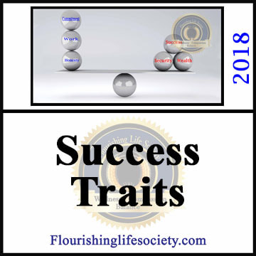 A Flourishing Life Society article link. Success Traits