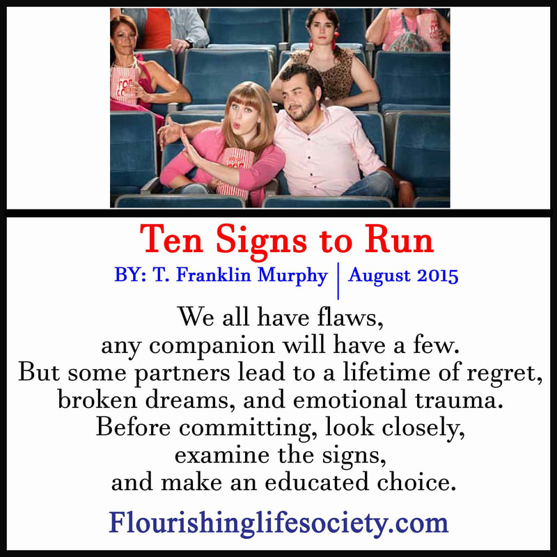 FLS Link. Ten Signs to leave a person after a few dates.