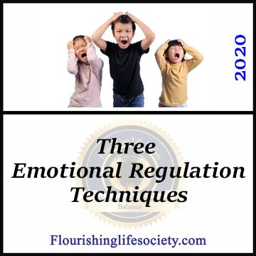 Flourishing Life Society Link. Article: Three Emotional Regulation Techniques