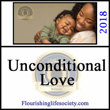 A Flourishing Life Society internal article link. Unconditional Love
