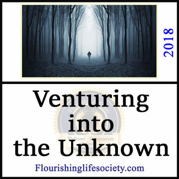 Picture Link: Venturing into the Unknown-- Carefully moving forward in a complex world.