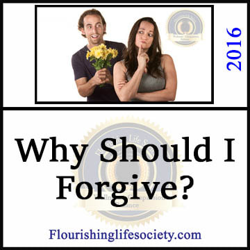 Some concepts of forgiveness cross into smug self-righteousness, others create personal harm by ignoring lessons that shouldn't be forgotten. But moving forward from injury by abandoning grudges serves us and society well.