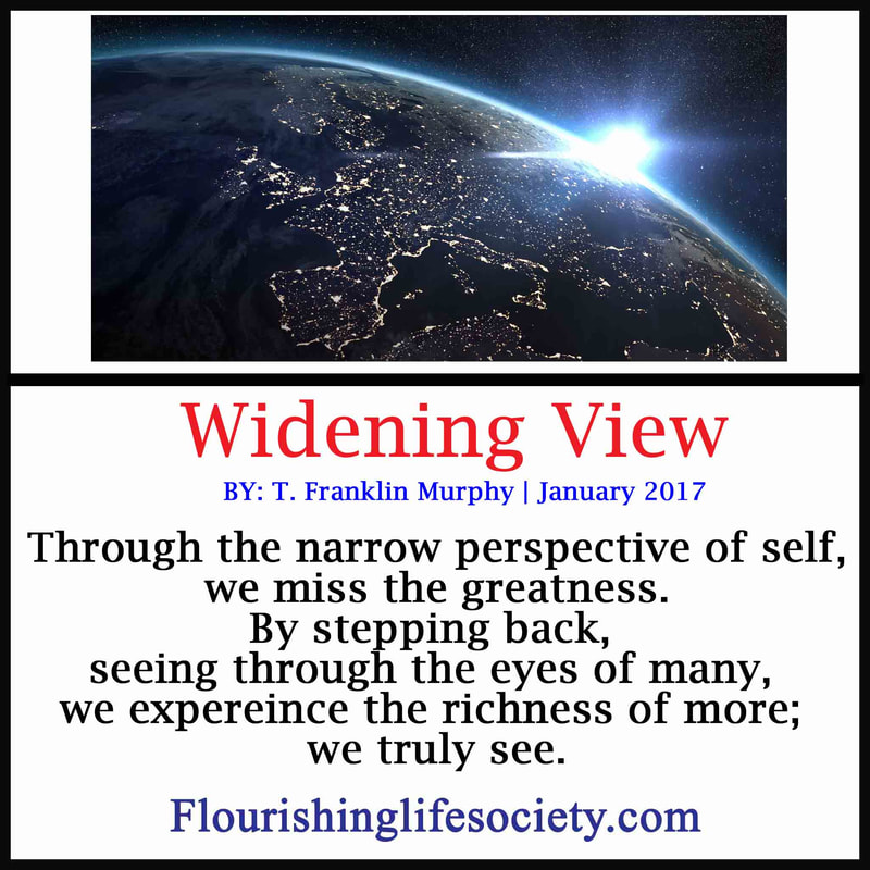We can see the world a little clearer by stepping beyond the confines of our own ego.